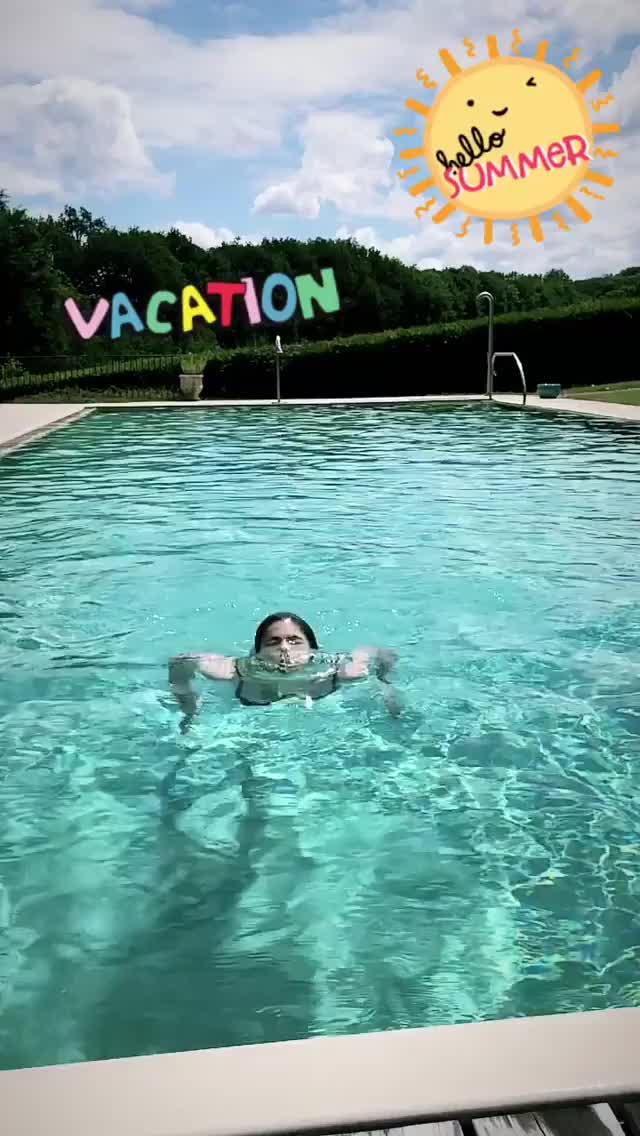 Watch and share Alex Daddario - IG Pool GIFs on Gfycat