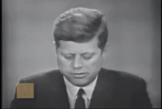 Watch John F. Kennedy - Address on Civil Rights GIF on Gfycat. Discover more john f. kennedy GIFs on Gfycat