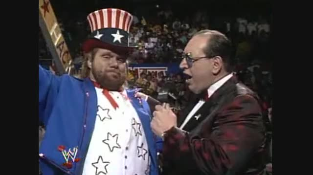 Watch and share Jim Duggan GIFs and Wwe GIFs by dadsvhscollection on Gfycat