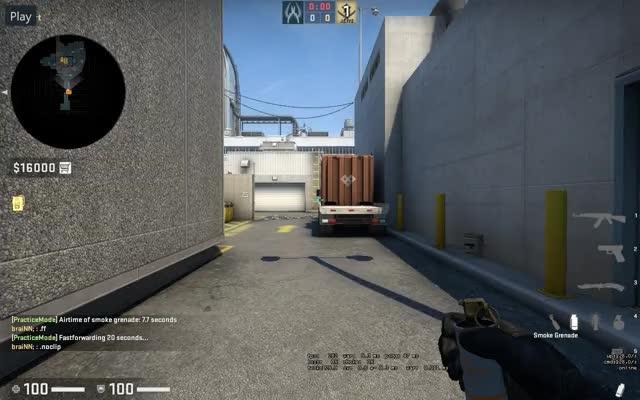 Watch and share Nuke Outside Smokes GIFs by braiNN on Gfycat