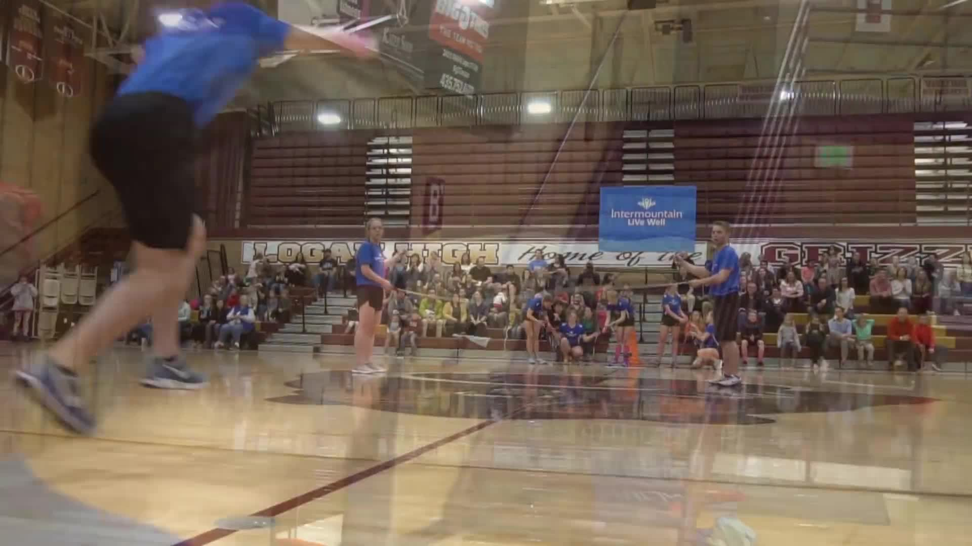 Film & Animation, WeJumpRope Music Videos, double dutch, flips, porter ballard, proform airborn, utah, wejumprope, JOLT 2019 - the BEST jump rope event in Utah GIFs