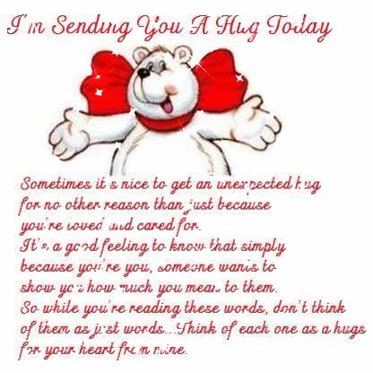 Watch and share Sending You Hug Today GIFs on Gfycat