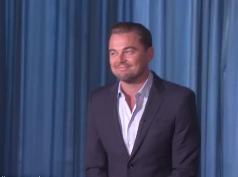 Hi, Wave, hey, Leonardo DiCaprio Heeeyyy GIFs