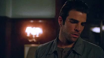 Watch and share Sexiest Man Alive GIFs and Zachary Quinto GIFs on Gfycat