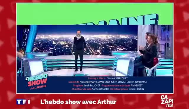"Watch and share Apolline De Malherbe En Direct Sur BFMTV : ""Va Te Faire Foutre !"" - ZAPPING TÉLÉ DU 02/05/2016 GIFs on Gfycat"