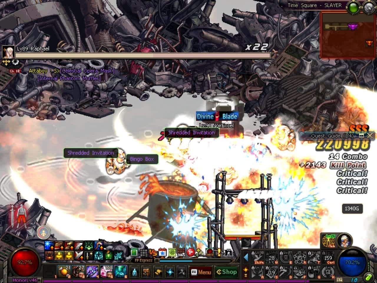 60fps, dfo, mmorpg, DFO Hell Mode Vol.70 GIFs