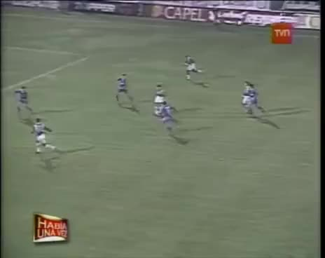 Watch and share Los 16 Goles De Claudio Borghi GIFs on Gfycat