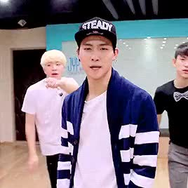 Watch and share Dance Practice GIFs and Im Jaebum GIFs on Gfycat