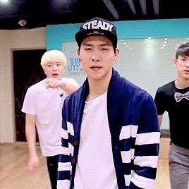 Gifs, Gifs: Got7, Gifs: Jaebum, Got7, Im Jaebum, JB, Jaebum, dance practice, uniqs, stop stop it GIFs