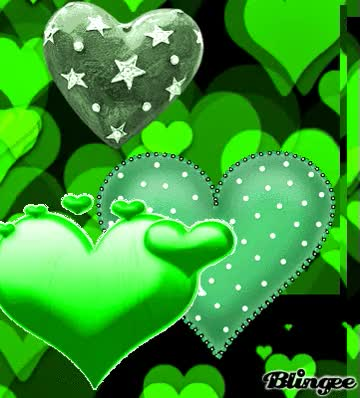 Watch and share 💚 Green Heart GIFs on Gfycat