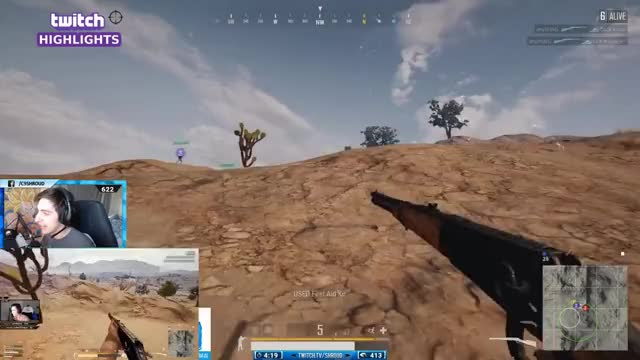 WIN94 IS OP - SHROUD WIN SQUAD FPP in MIRAMAR MAP [TEST