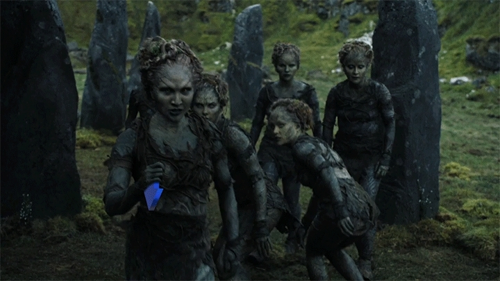 HighQualityGifs, hero0fwar, upvotegifs, [GoT S06E05 Spoiler] The birth of the downvote troll (reddit) GIFs