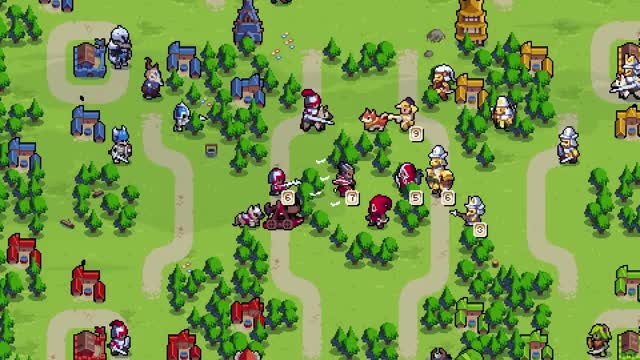 Watch Wargroove - Gameplay Trailer GIF by Rocco Supreme (@roccosupreme) on Gfycat. Discover more AW, Advance Wars, Chucklefish, Emeric, Mercia, Strategy, TBS, Tactics, Turn-based, Wargroove GIFs on Gfycat