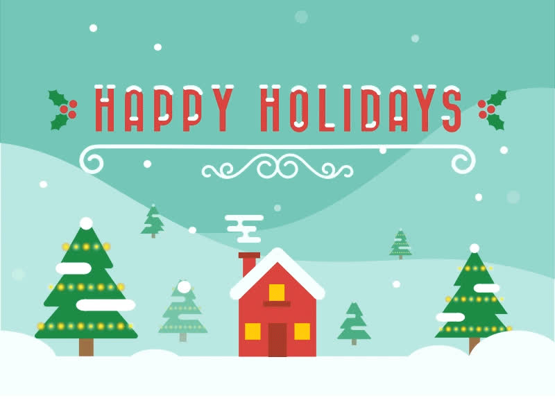 happy holidays, holidays, Happy Holidays! GIFs