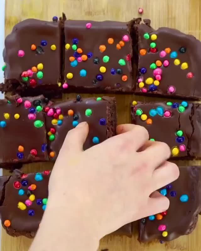 Watch and share Brownies Recipes GIFs and Brownies Recipe GIFs by Home Of Vegan Recipes on Gfycat