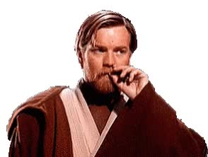 Watch and share Obi Wan Kenobi GIFs and Ewan Mcgregor GIFs by Ricky Bobby on Gfycat