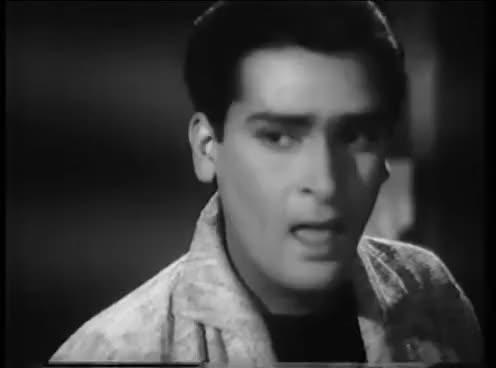 Watch and share Mehfil Mein Jo Aye Tum - Best Classic Club Song - Shammi Kapoor, Edwina - Vallah Kya Baat Hai GIFs on Gfycat
