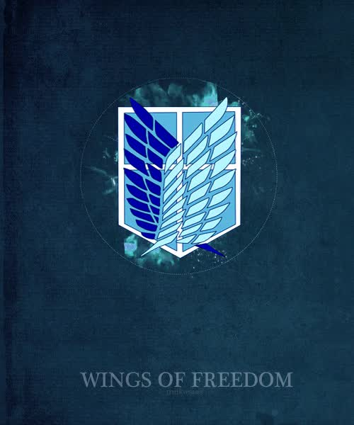 Watch and share Shingeki No Kyojin GIFs and Wings Of Freedom GIFs on Gfycat