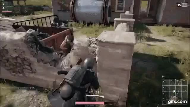 Watch [PUBG] Shotgun sends naked man flying GIF on Gfycat. Discover more Accidentalcomedy, BattleRoyale, PUBG GIFs on Gfycat
