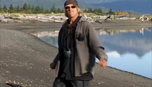 """Watch and share Grizzly Man - 17. """"Park Service Attack"""" GIFs on Gfycat"""
