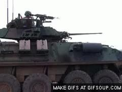 Watch and share LAV Firing GIFs on Gfycat