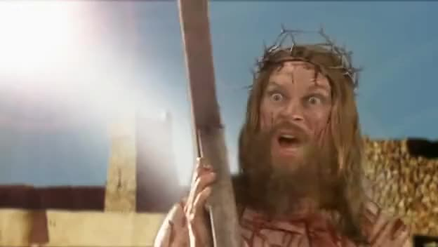 Watch this jesus GIF on Gfycat. Discover more jesus, jesus christ, mitchell, webb GIFs on Gfycat
