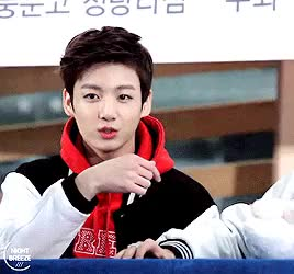 Watch and share Little Throwback <3 GIFs and Jeon Jungkook GIFs on Gfycat
