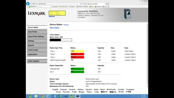 Lexmark Scan to Email and Address Book (reddit) GIF | Find