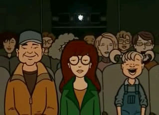 bored, cool story bro, daria, not funny, over it, unamused, Daria Bored GIFs