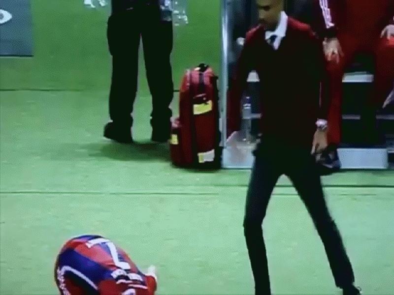 soccergifs, Pep Guardiola and Franck Ribery GIFs