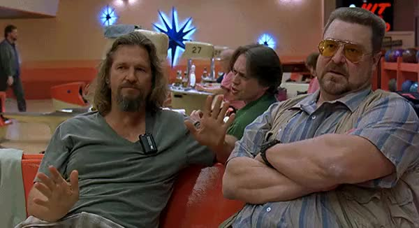 Watch Anything from The Big Lebowski : HighQualityGifs GIF on Gfycat. Discover more jeff bridges, john goodman GIFs on Gfycat