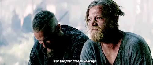 Watch and share Ragnar Lothbrok GIFs and Jefferson Hall GIFs on Gfycat