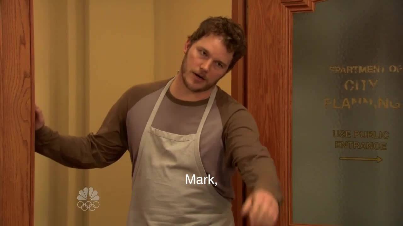 Chris Pratt, PandR, pandr, Weakening their relationship GIFs