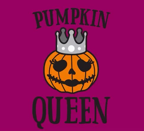 afraid, cute, halloween, pink, pumpkin, queen, scary, spooky, Pumpkin queen GIFs