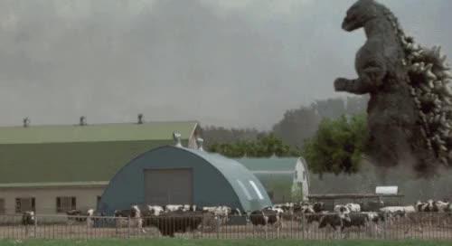 Watch and share Godzilla Gif GIFs and Vintage GIFs on Gfycat