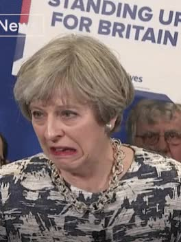 Watch and share Theresa May GIFs and Disgusting GIFs on Gfycat