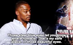 Watch and share Anthony Mackie GIFs and Celebs GIFs on Gfycat