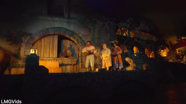 Watch and share [HD] Pirates Of The Caribbean Ride W/ New Scenes And More! Disneyland 2018 POV GIFs on Gfycat