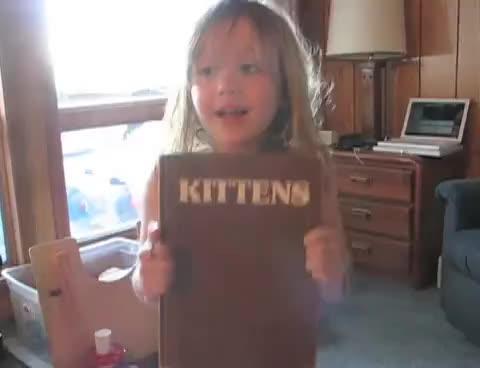 cats, cute, girl, kittens, Kittens Inspired by Kittens GIFs