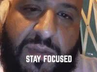 dj khaled, focused, key, keys, major key, major key alert, stay focused, Stay focued - DJ Khaled GIFs