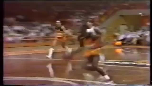 Watch and share MJ Destroys The Backboard, 1985 GIFs by drjsfro on Gfycat