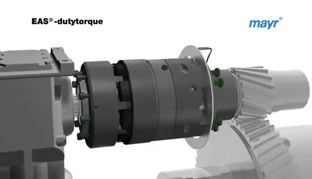 Watch and share Torque Limiter / Safety Clutch EAS-dutytorque From Mayr Power Transmission GIFs on Gfycat