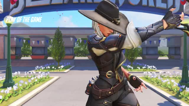 Watch Ashe GIF on Gfycat. Discover more overwatch, potg GIFs on Gfycat