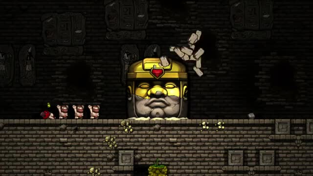 Watch and share Olmec 1 Bomb Start GIFs by khold00 on Gfycat