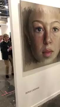 Watch and share Live Ageing Portrait Painting By Sergi Cadenas GIFs by Mahmoud M. Mahdali on Gfycat