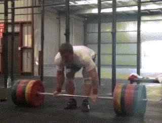 Klokov 300kg Deadlift : weightlifting GIFs