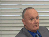 creed bratton, relieve GIFs