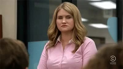 Watch and share Blake Anderson GIFs and Jillian Bell GIFs on Gfycat