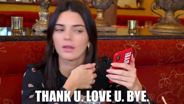 Watch this curated GIF by Super GIF (@supergif) on Gfycat. Discover more bye, goodbye, hang, jenner, kardashians, keeping, kendall, kuwtk, later, love, mobile, phone, talk, thank, the, u, up, with, you GIFs on Gfycat