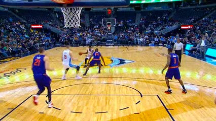 Watch and share Emmanuel Mudiay — Denver Nuggets GIFs by Off-Hand on Gfycat
